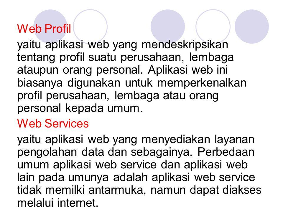 Web Profil