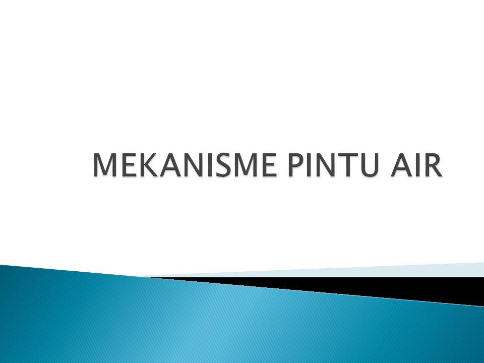 MEKANISME PINTU AIR