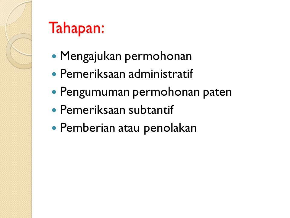 Tahapan: Mengajukan permohonan Pemeriksaan administratif