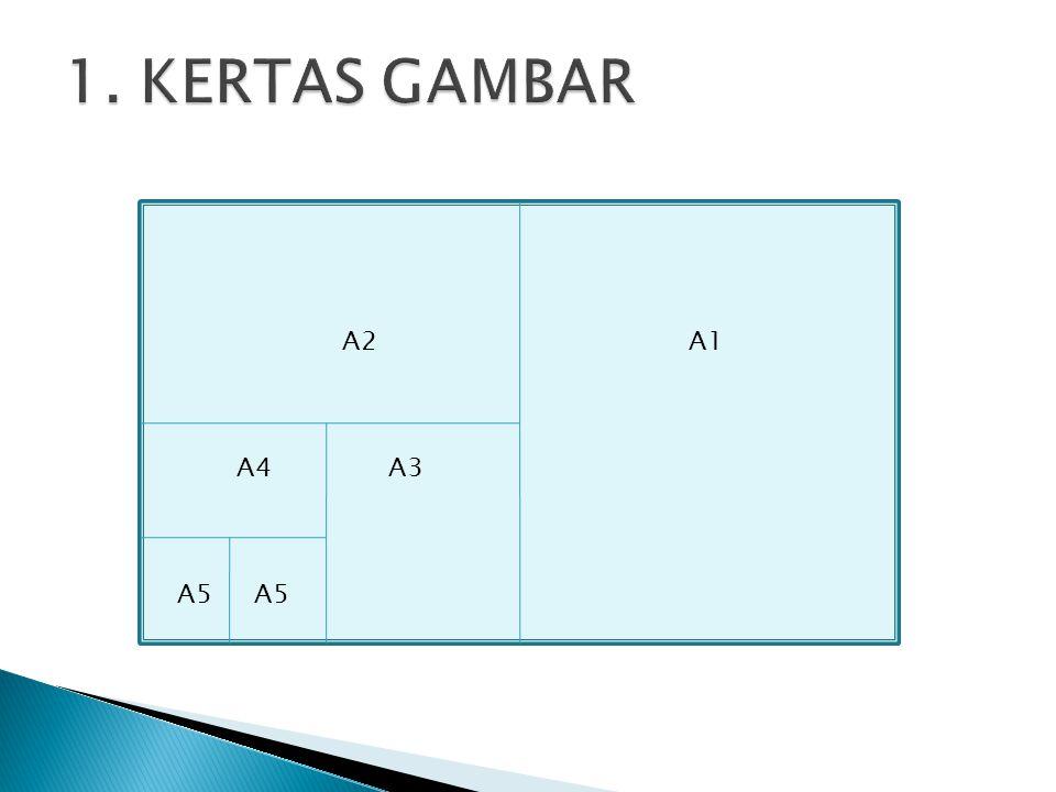1. KERTAS GAMBAR A2 A1 A4 A3 A5 A5