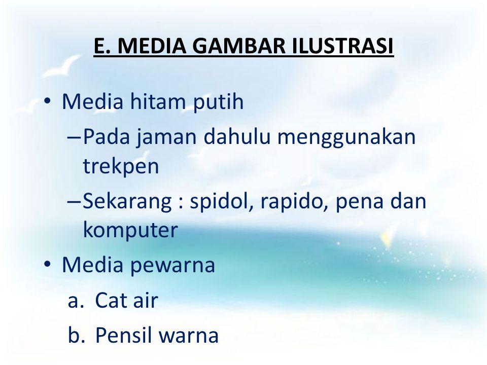 E. MEDIA GAMBAR ILUSTRASI