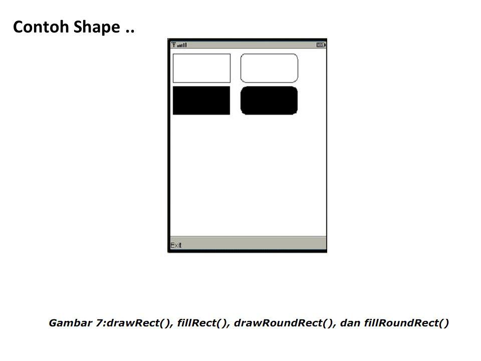Contoh Shape ..