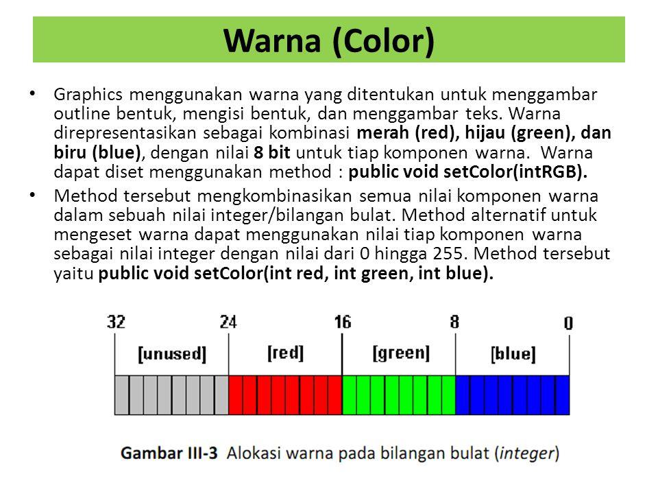 Warna (Color)