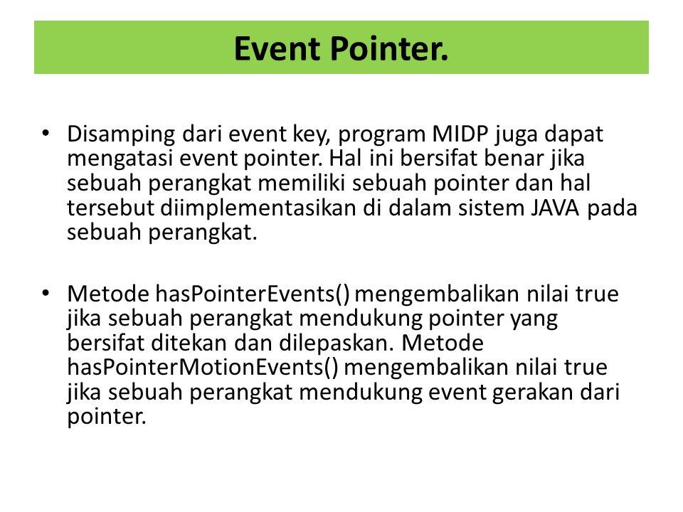 Event Pointer.