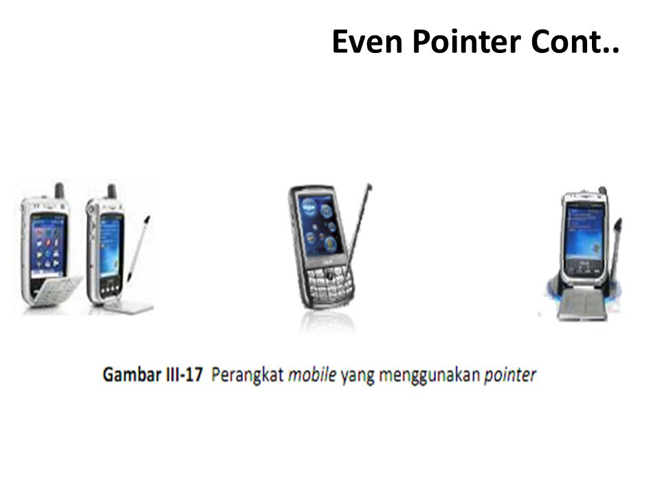 Even Pointer Cont..