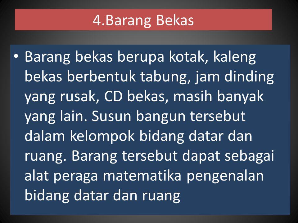 4.Barang Bekas