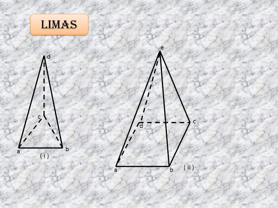 Limas e d c c d b a ( i ) ( ii ) a b