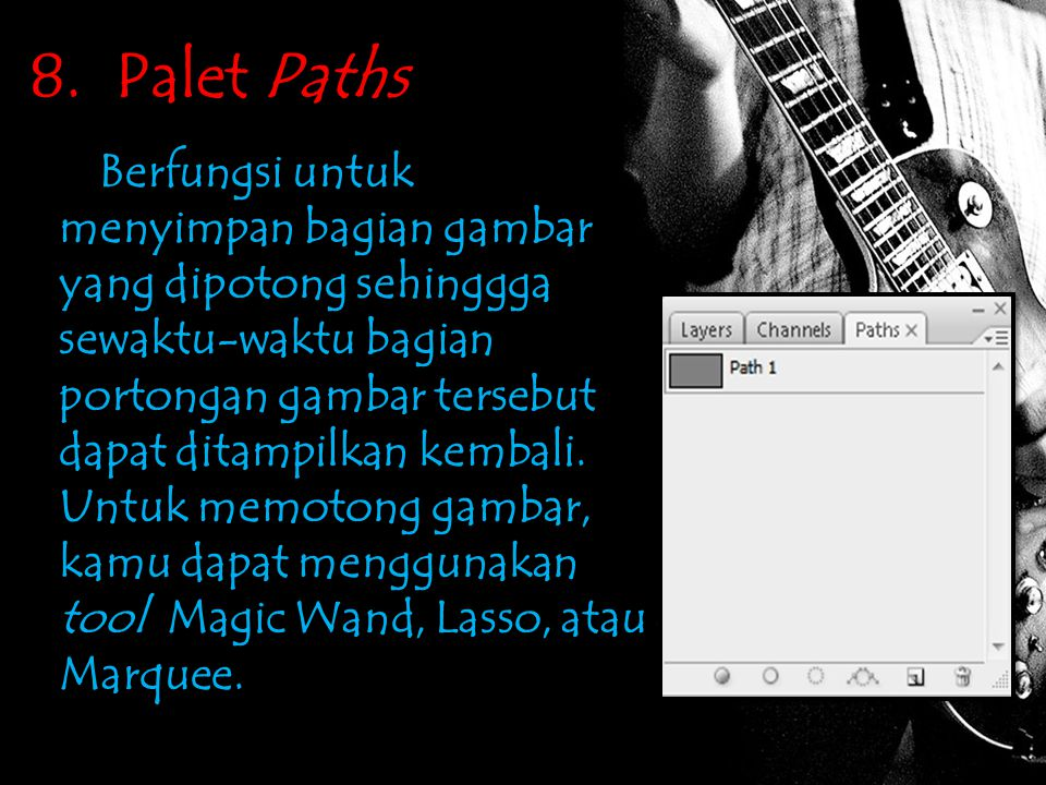 8. Palet Paths