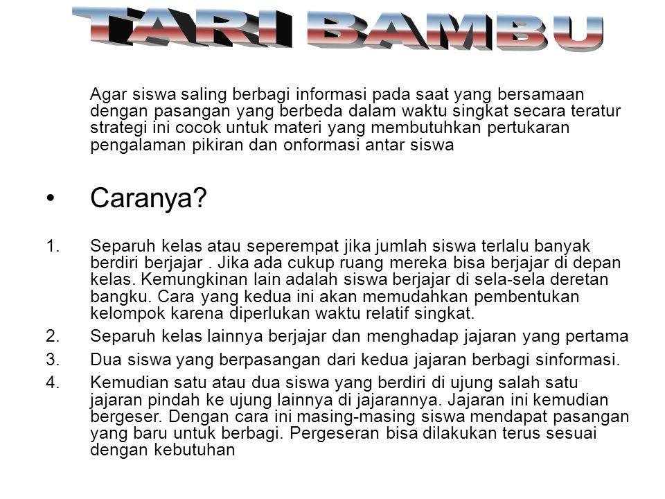 TARI BAMBU