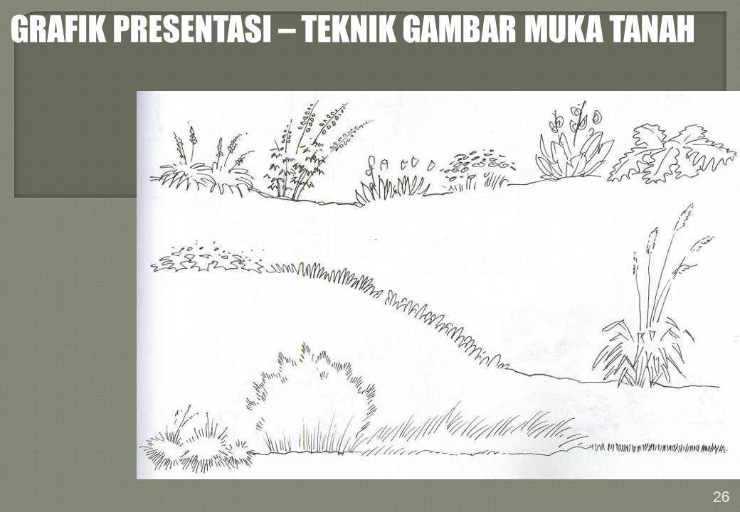 GRAFIK PRESENTASI – TEKNIK GAMBAR MUKA TANAH