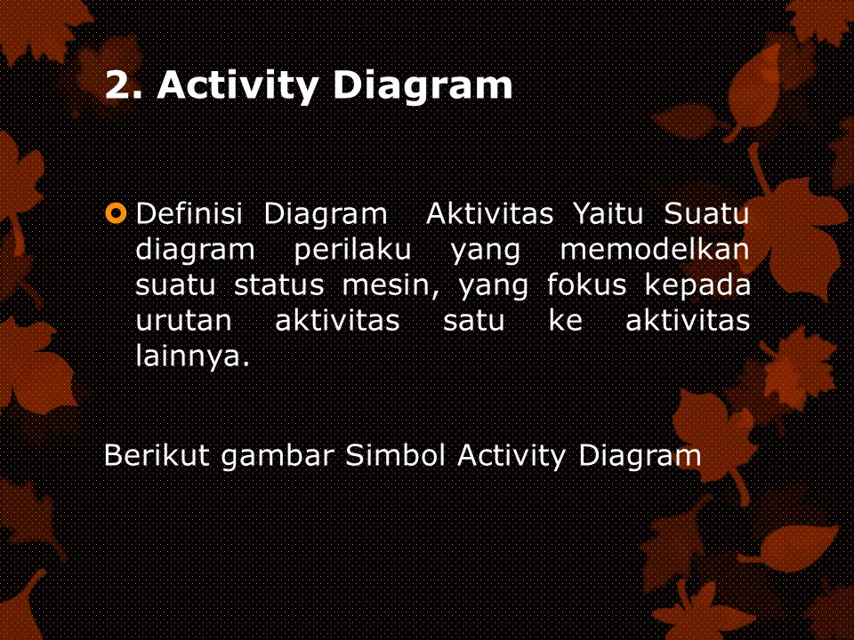 2. Activity Diagram