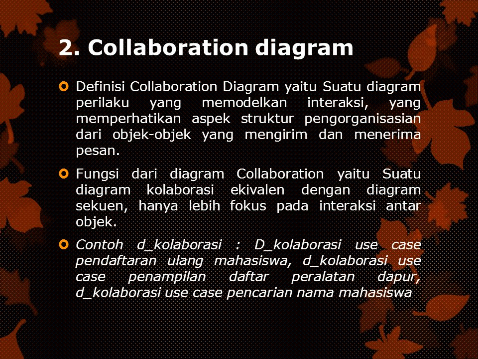 2. Collaboration diagram