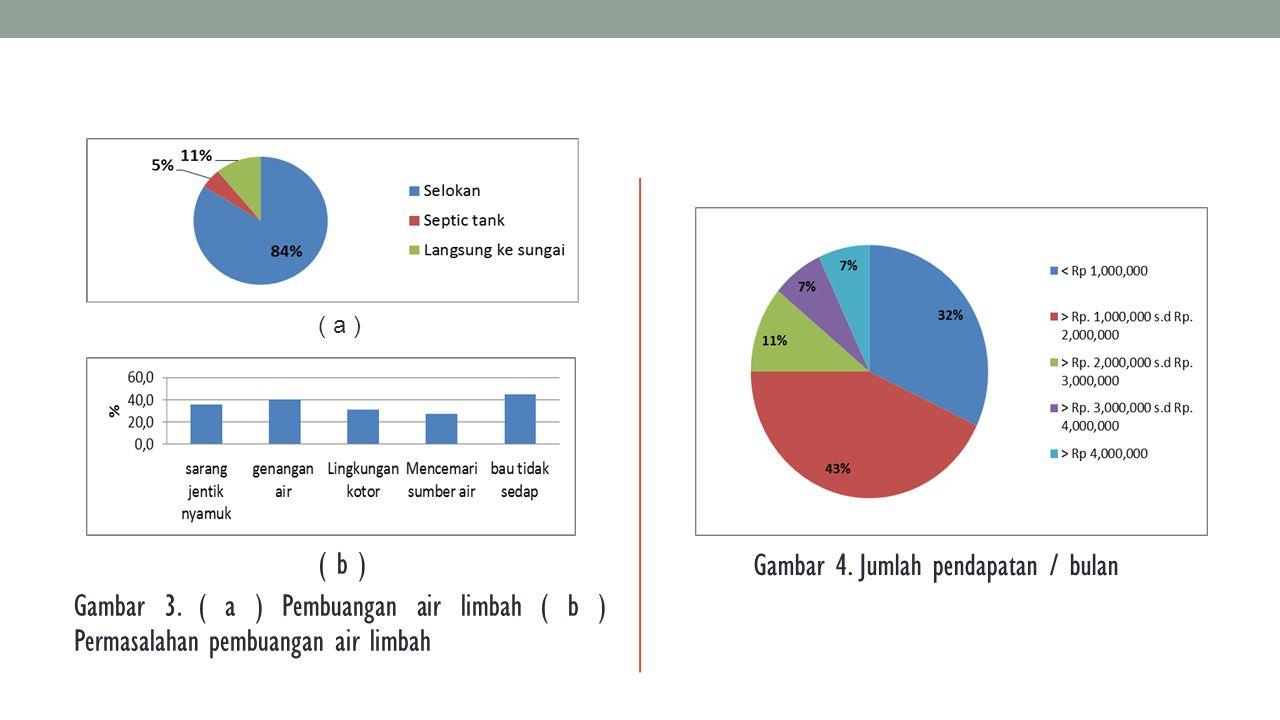 Gambar 4. Jumlah pendapatan / bulan