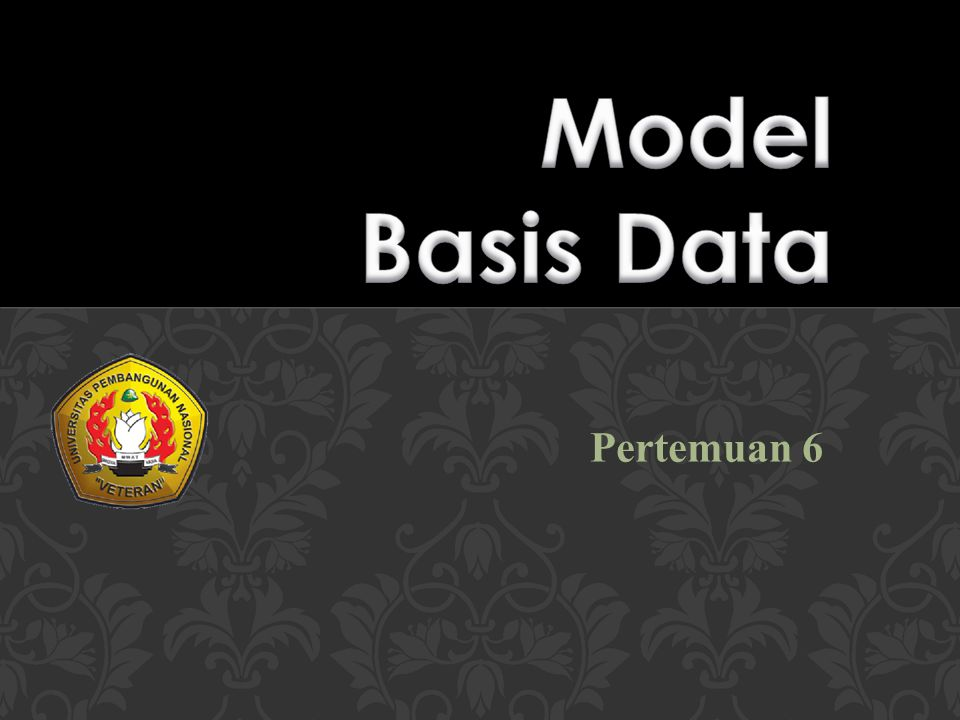 Model Basis Data Pertemuan 6