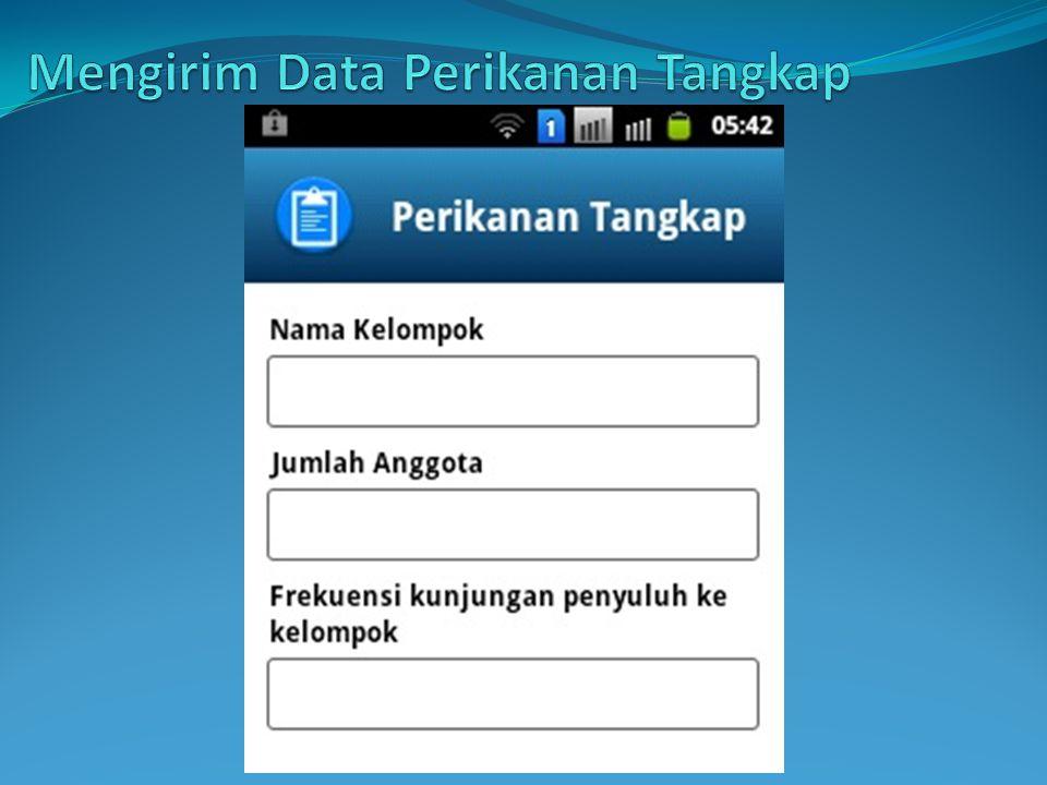 Mengirim Data Perikanan Tangkap
