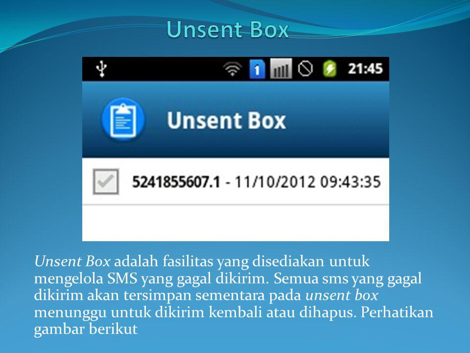 Unsent Box