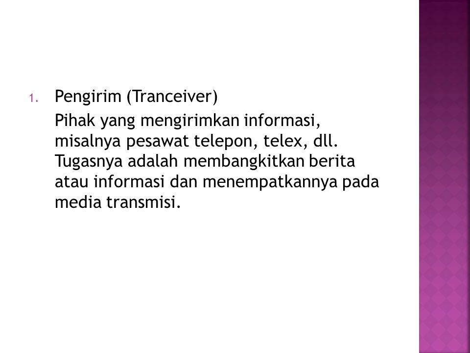 Pengirim (Tranceiver)