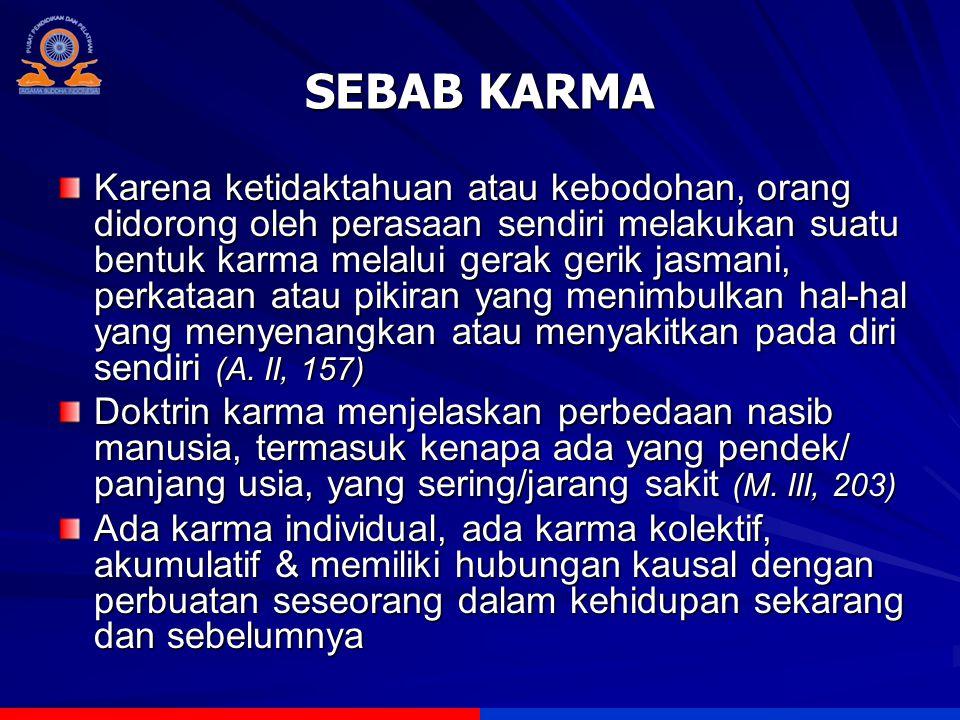 SEBAB KARMA