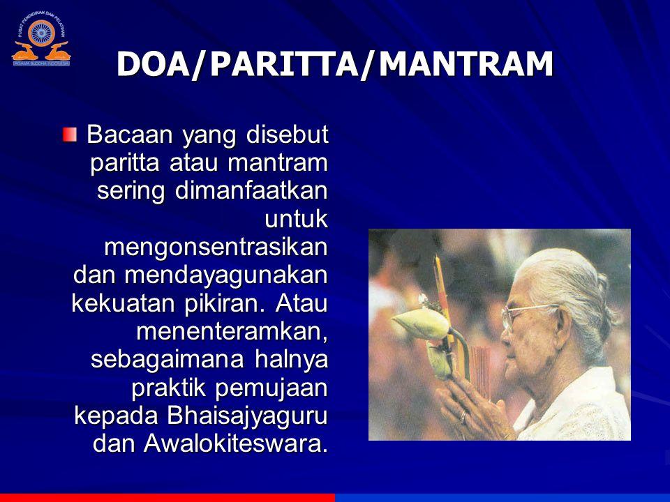 DOA/PARITTA/MANTRAM