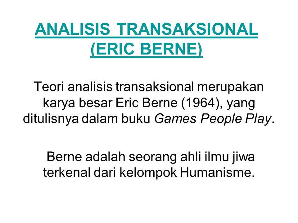 ANALISIS TRANSAKSIONAL (ERIC BERNE)