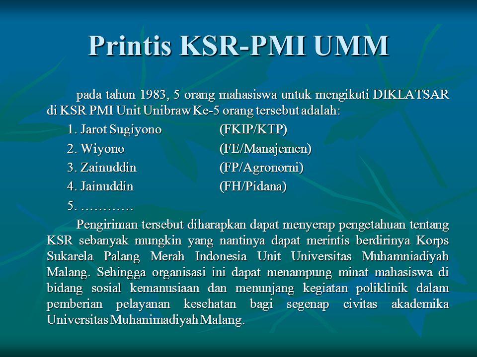 Printis KSR-PMI UMM