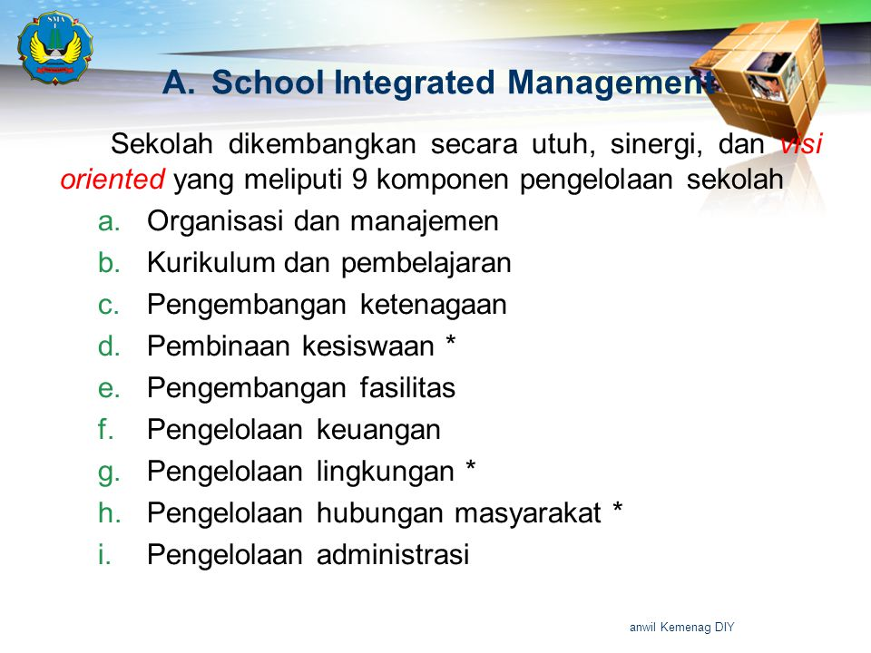 School Integrated Management