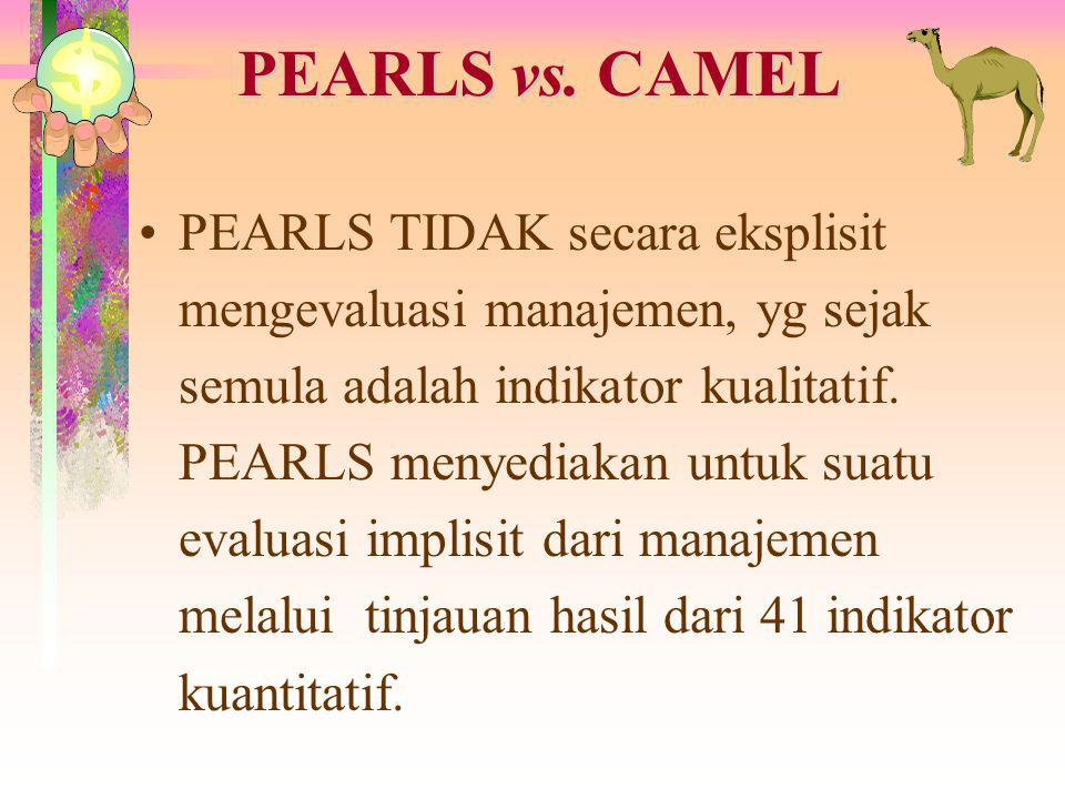 PEARLS vs. CAMEL