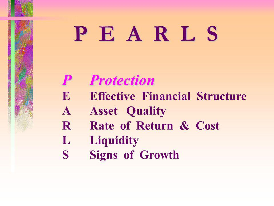 P E A R L S P Protection E Effective Financial Structure