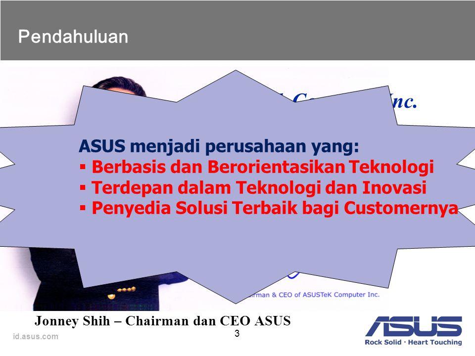 Penyedia teknologi terdepan dan solusi terbaik bagi semua customernya.