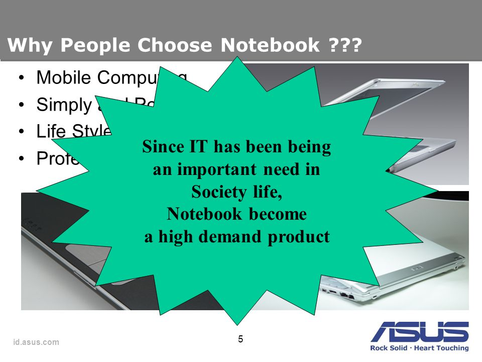 Why People Choose Notebook