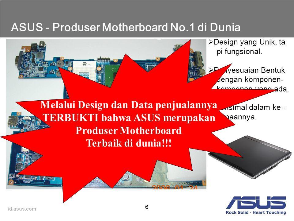 ASUS - Produser Motherboard No.1 di Dunia