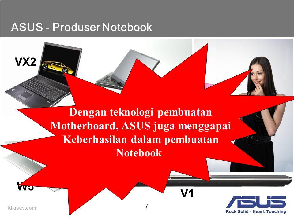ASUS - Produser Notebook