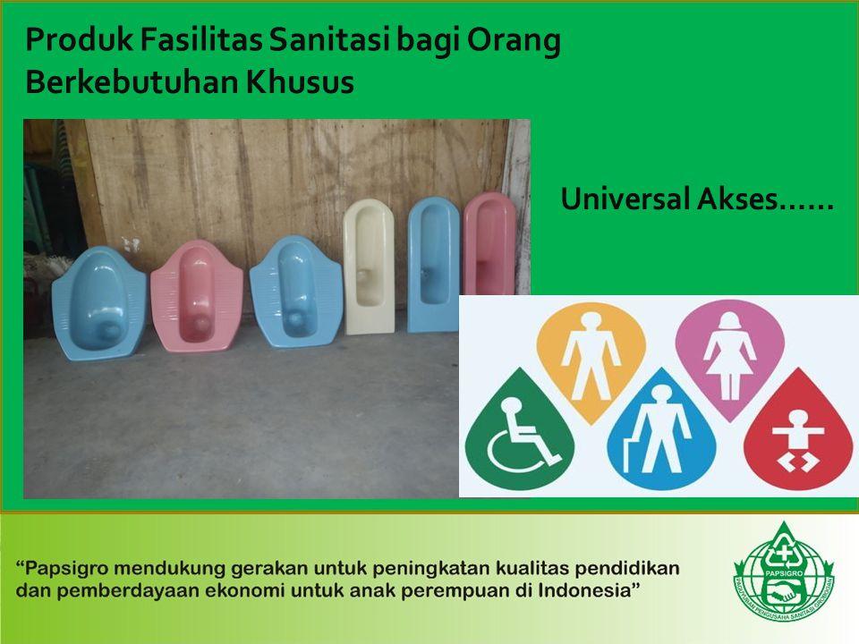 Produk Fasilitas Sanitasi bagi Orang Berkebutuhan Khusus