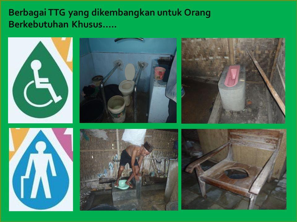 Berbagai TTG yang dikembangkan untuk Orang Berkebutuhan Khusus…..