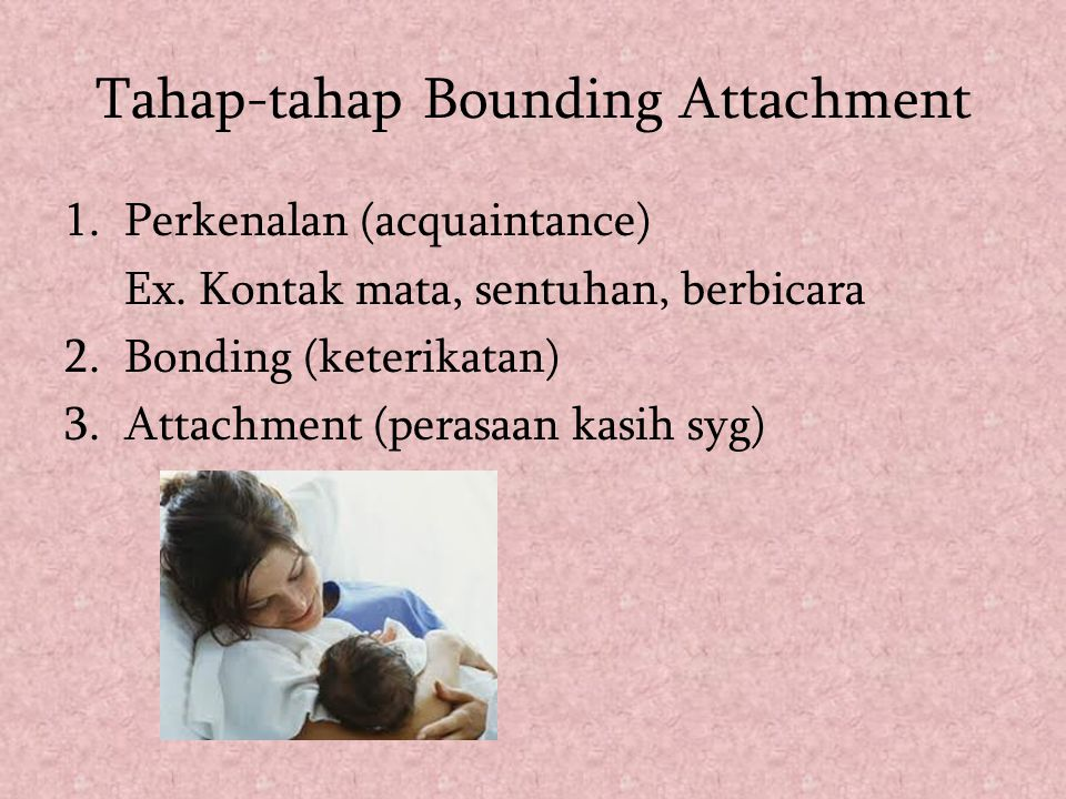 Tahap-tahap Bounding Attachment