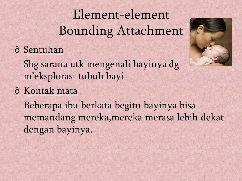 Element-element Bounding Attachment