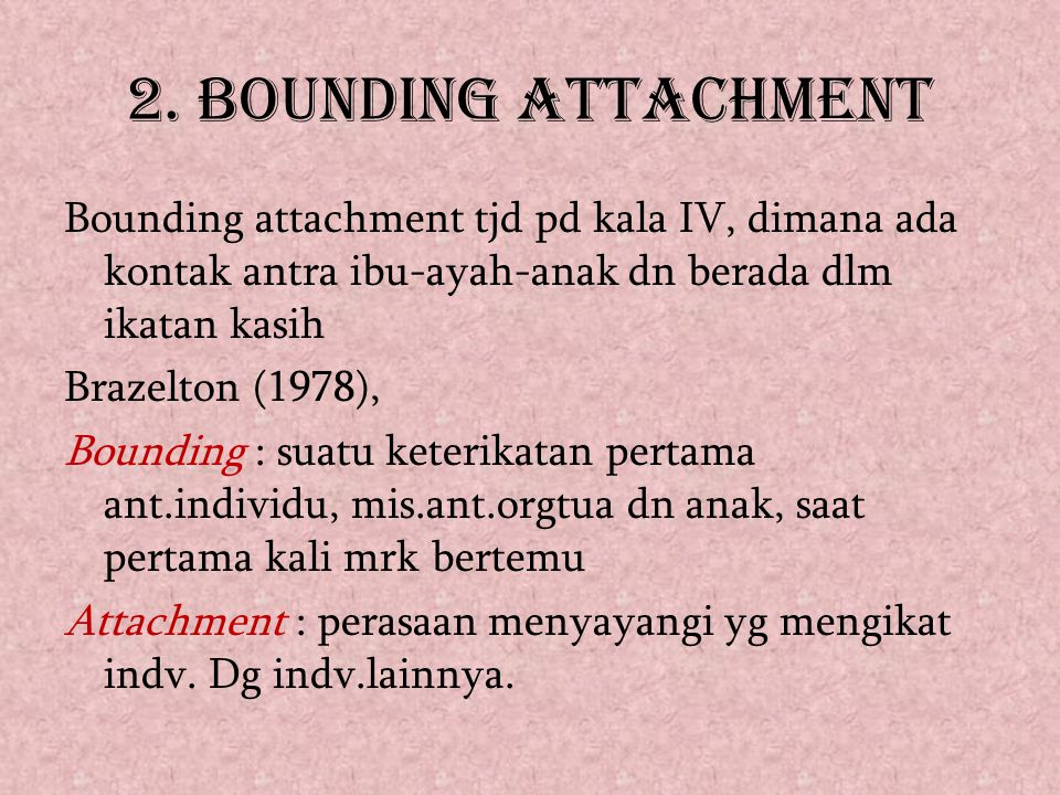 2. BOUNDING ATTACHMENT