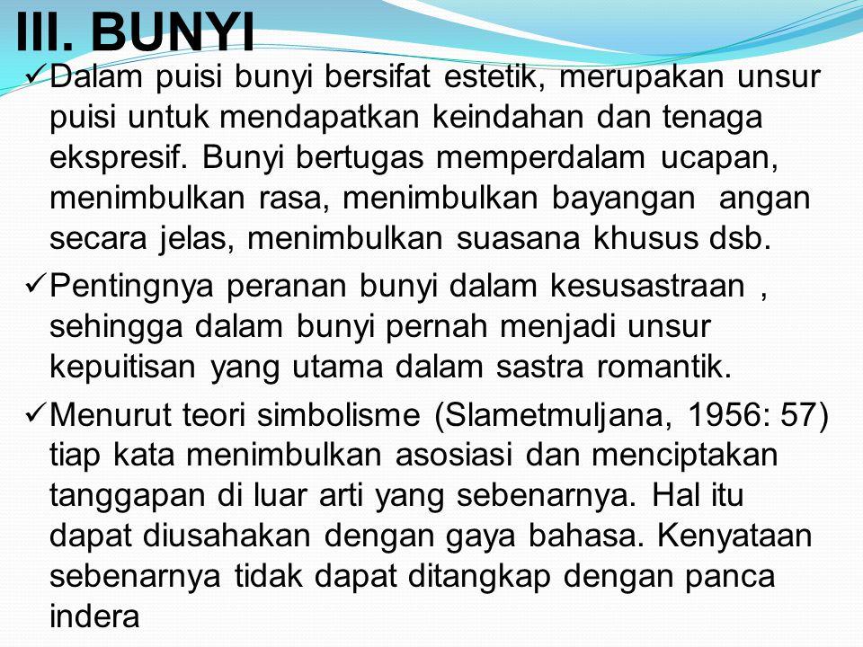 III. BUNYI