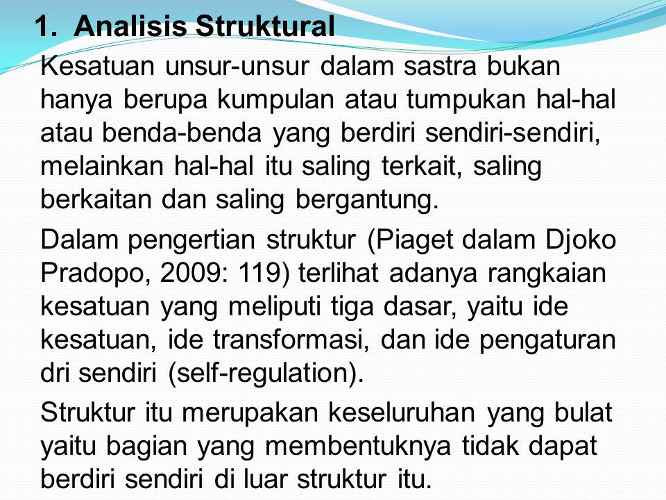 1. Analisis Struktural