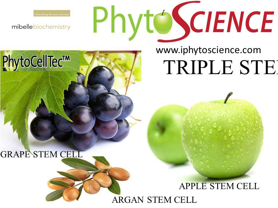 TRIPLE STEMCEL www.iphytoscience.com GRAPE STEM CELL APPLE STEM CELL