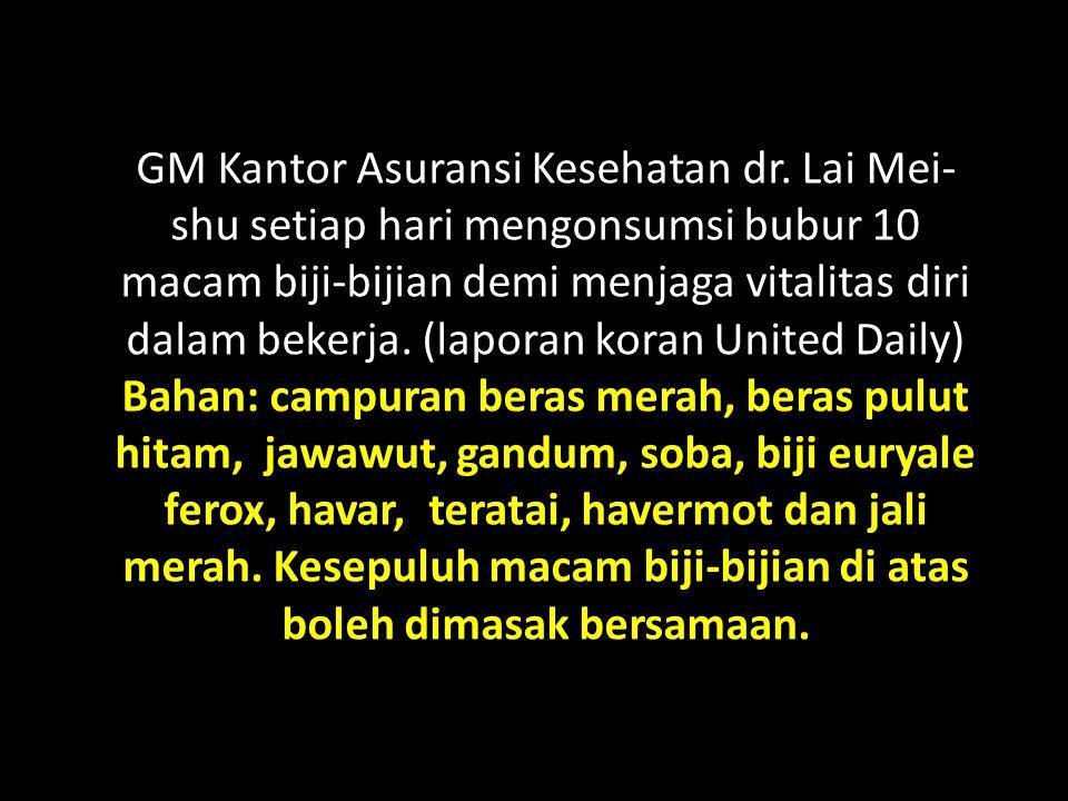 GM Kantor Asuransi Kesehatan dr