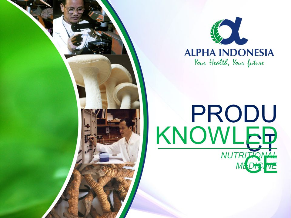 PRODUCT KNOWLEDGE NUTRITIONAL MEDICINE