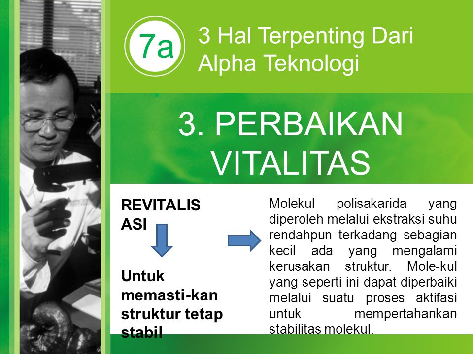3. PERBAIKAN VITALITAS STRUKTUR