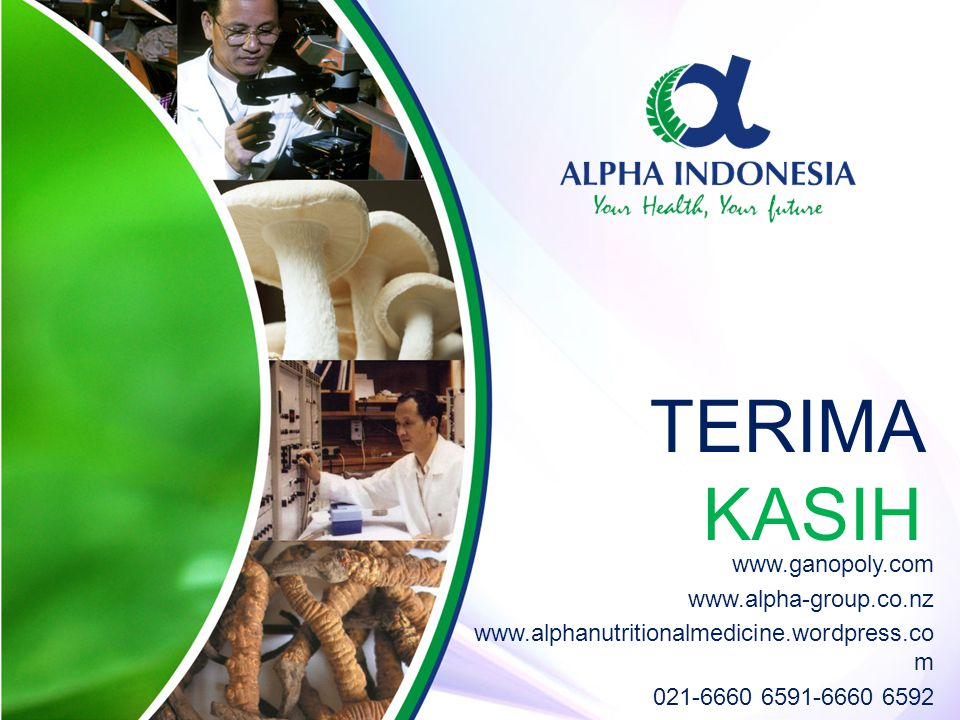 TERIMA KASIH www.ganopoly.com www.alpha-group.co.nz