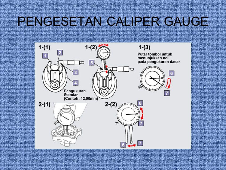 PENGESETAN CALIPER GAUGE