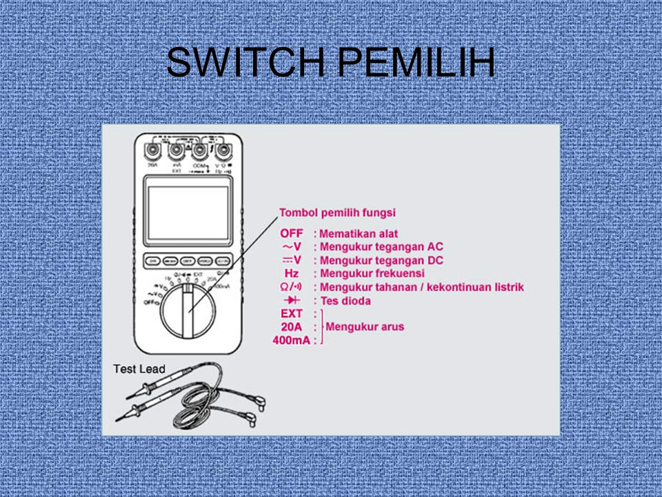 SWITCH PEMILIH