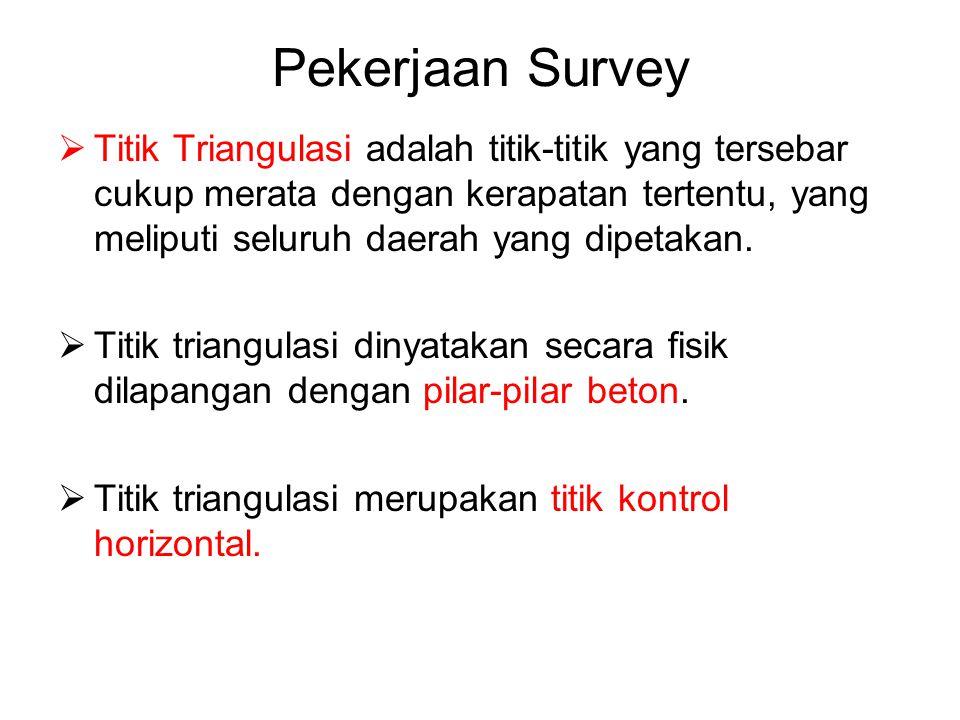 Pekerjaan Survey