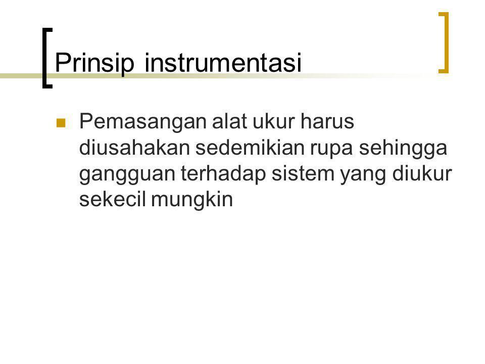 Prinsip instrumentasi