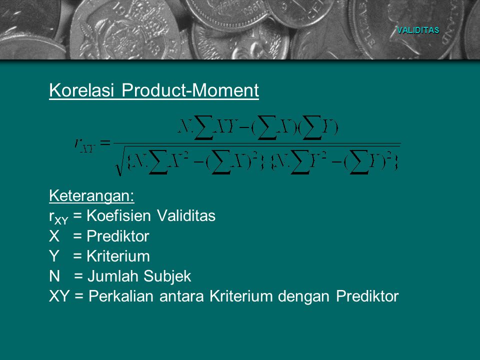 Korelasi Product-Moment