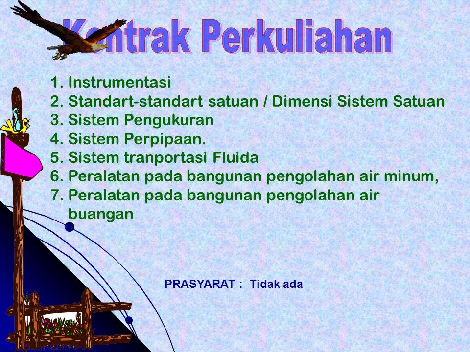 Kontrak Perkuliahan Instrumentasi